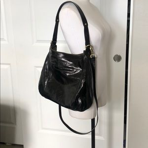 HOBO purse new w/out tags black leather